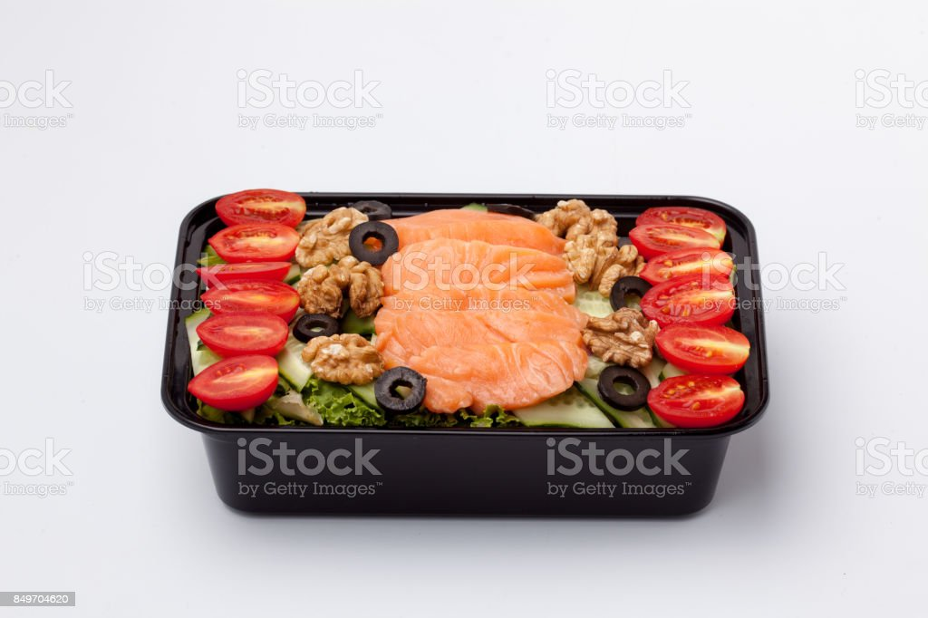 Healthy meal stock photo