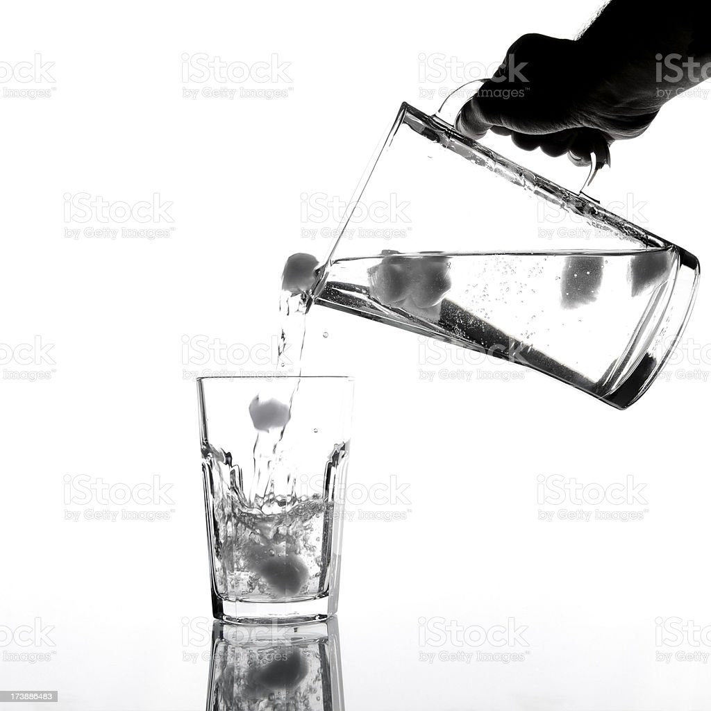 Healthy mineral water royalty-free stock photo