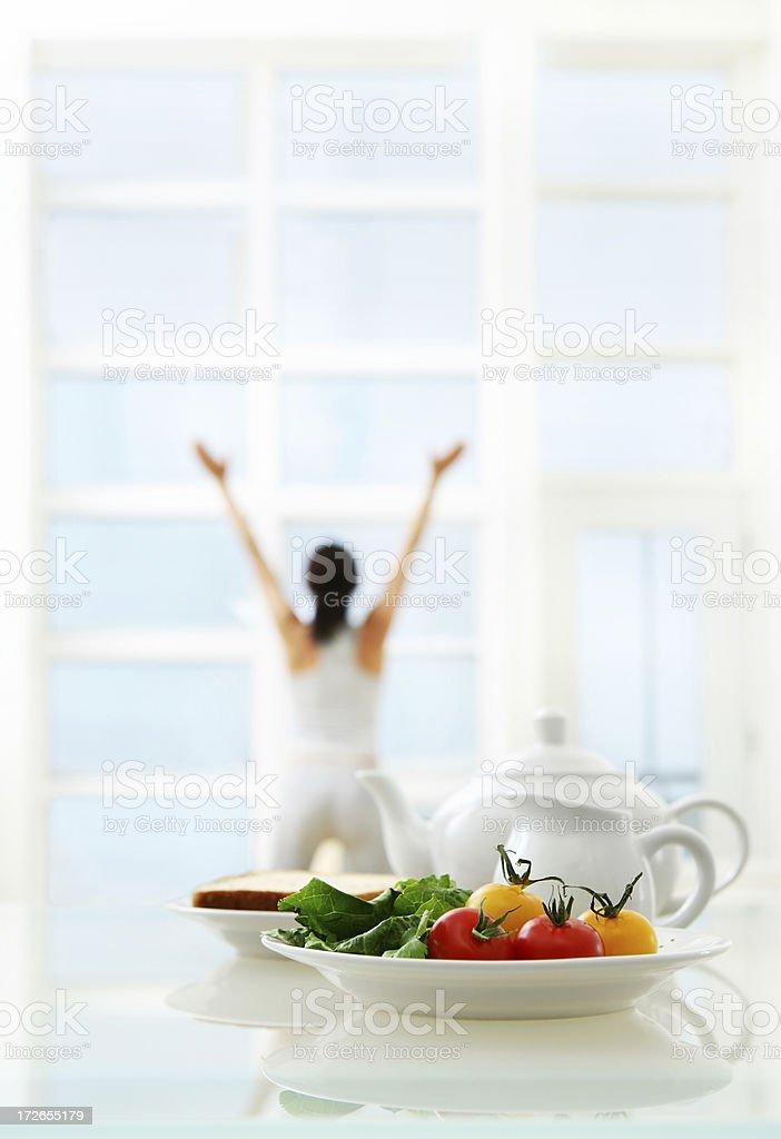 Healthy Morning royalty-free stock photo
