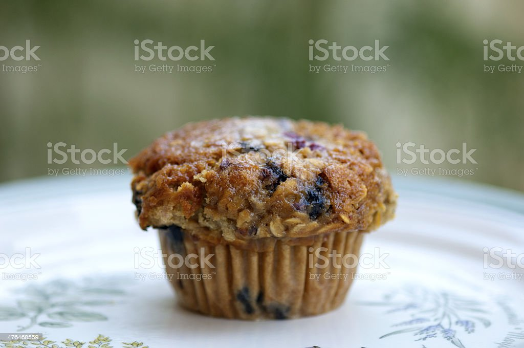 Healthy Muffin royalty-free stock photo