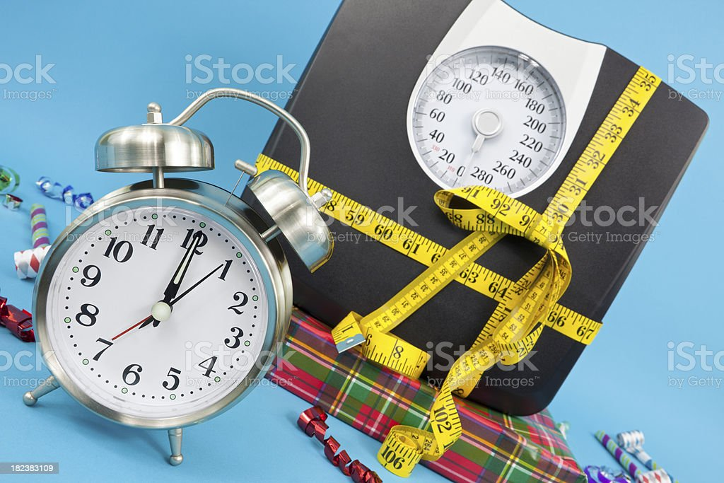 Healthy New Year royalty-free stock photo