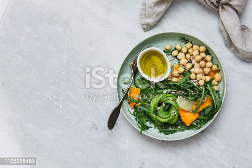 Healthy nourishment bowl