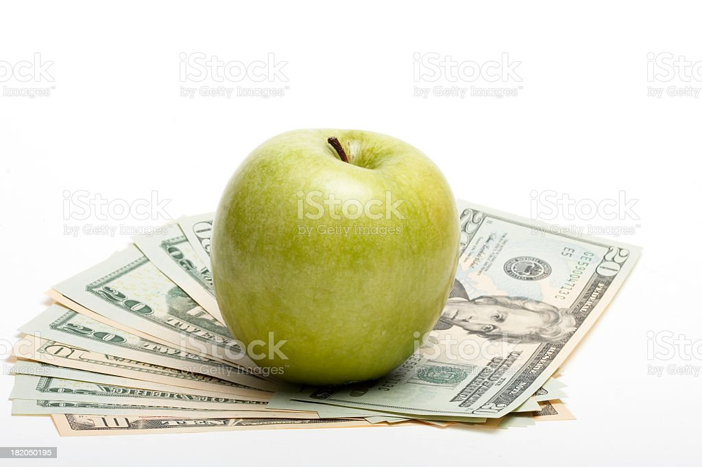 Healthy of finance stock photo