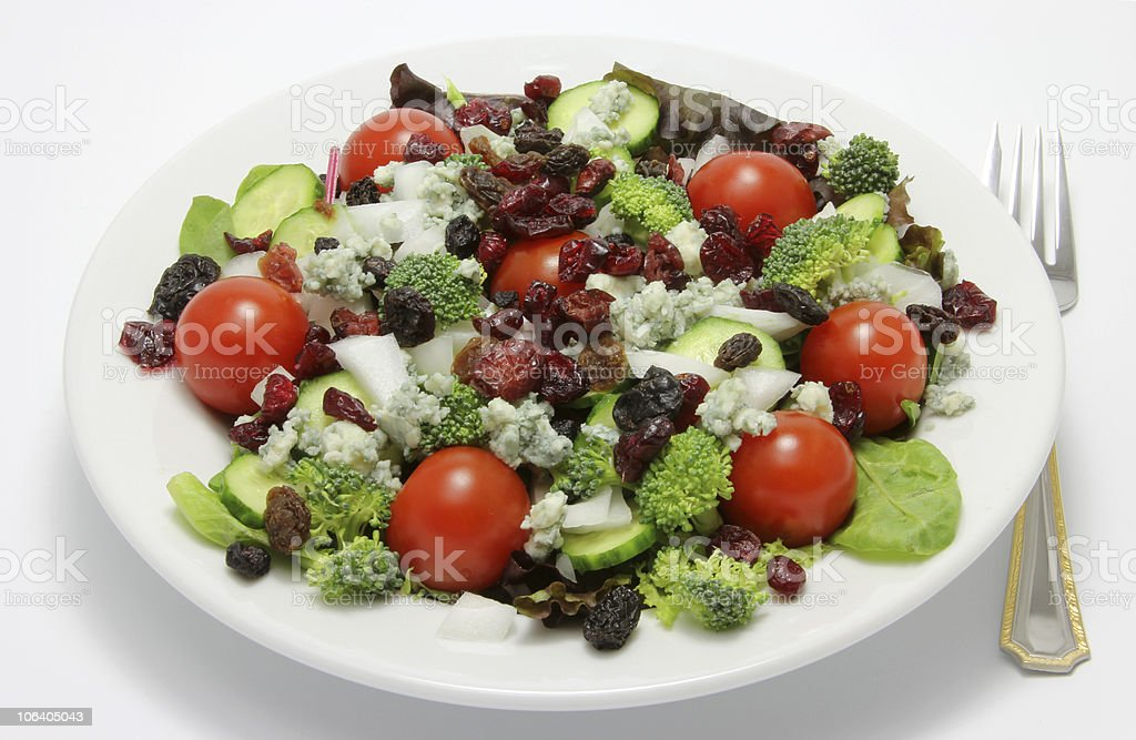 Healthy Organic Summer Salad royalty-free stock photo