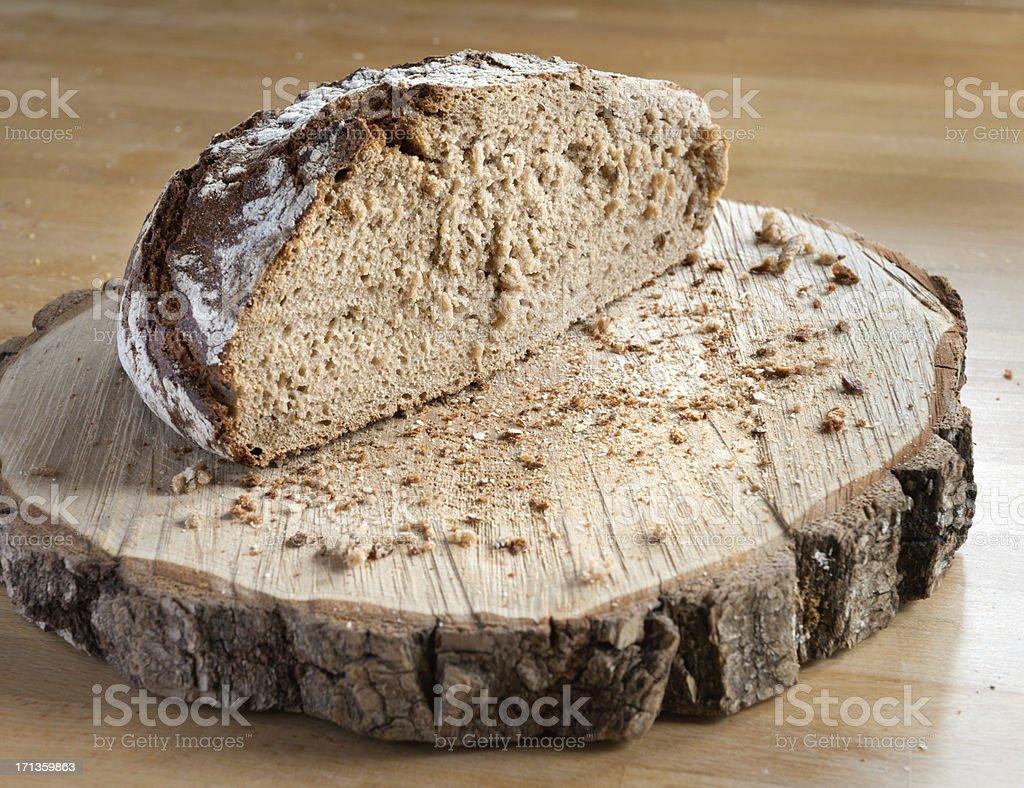 Healthy Organic Wholewheat Grain Bread (XXXL) stock photo