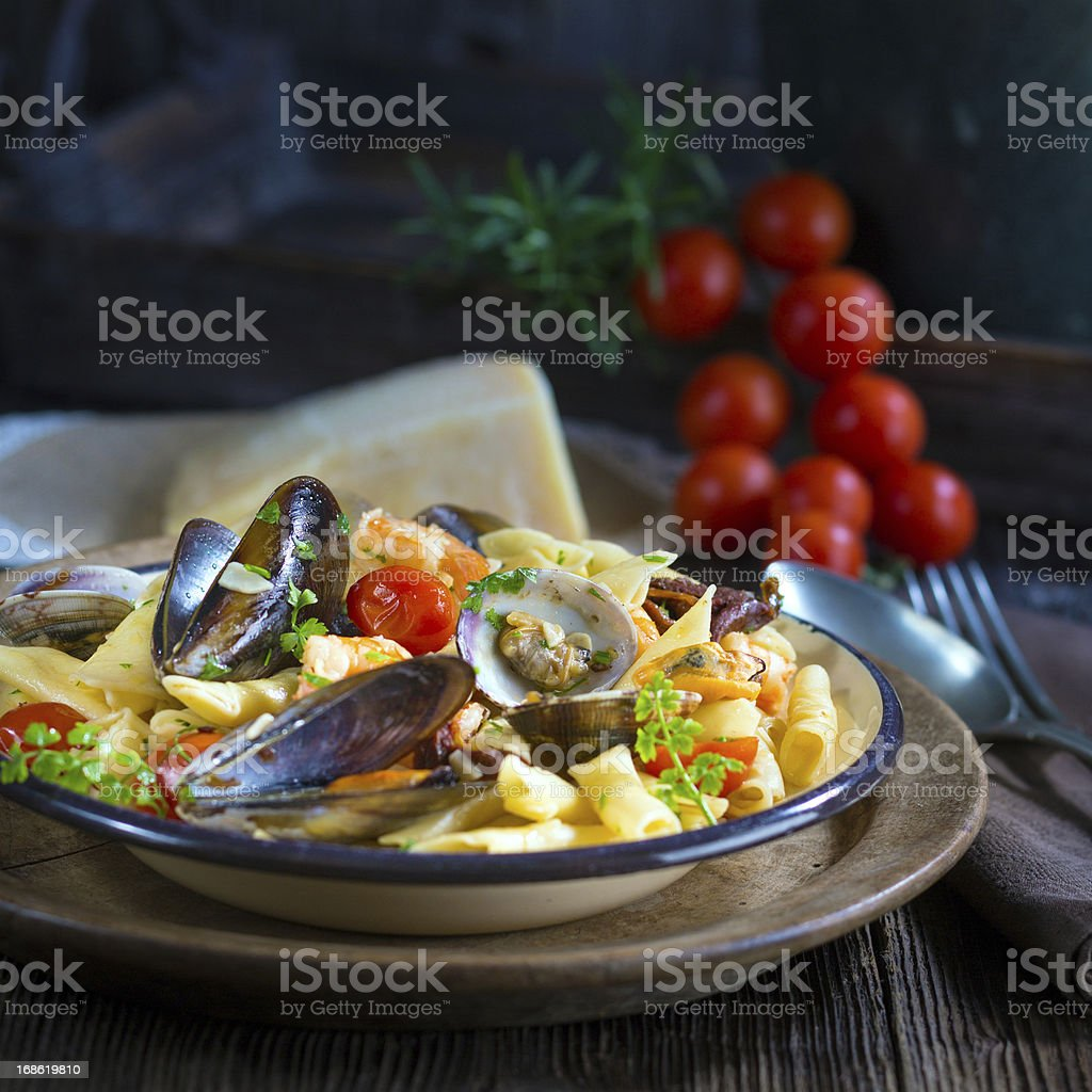 Healthy Pasta royalty-free stock photo