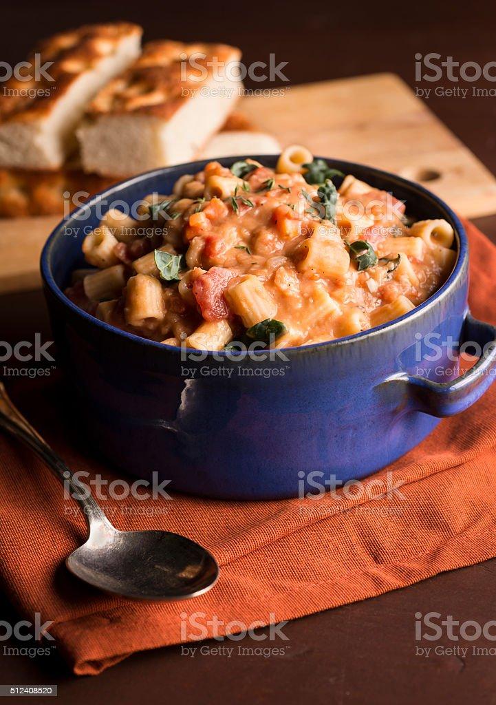 Saudável sopa de macarrão - foto de acervo
