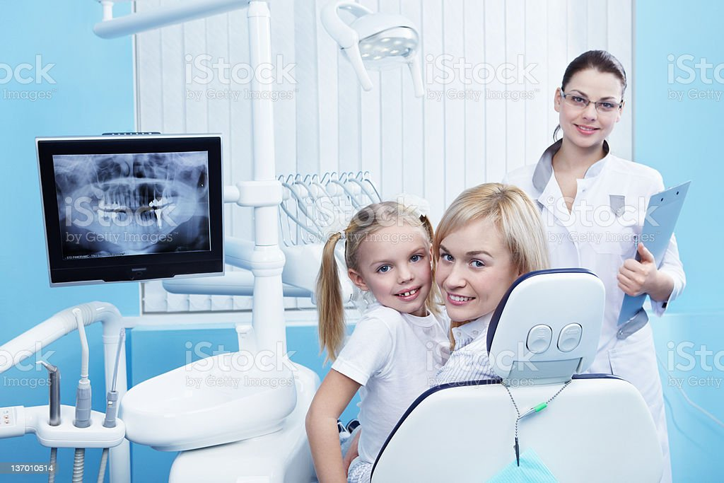 Healthy patients royalty-free stock photo