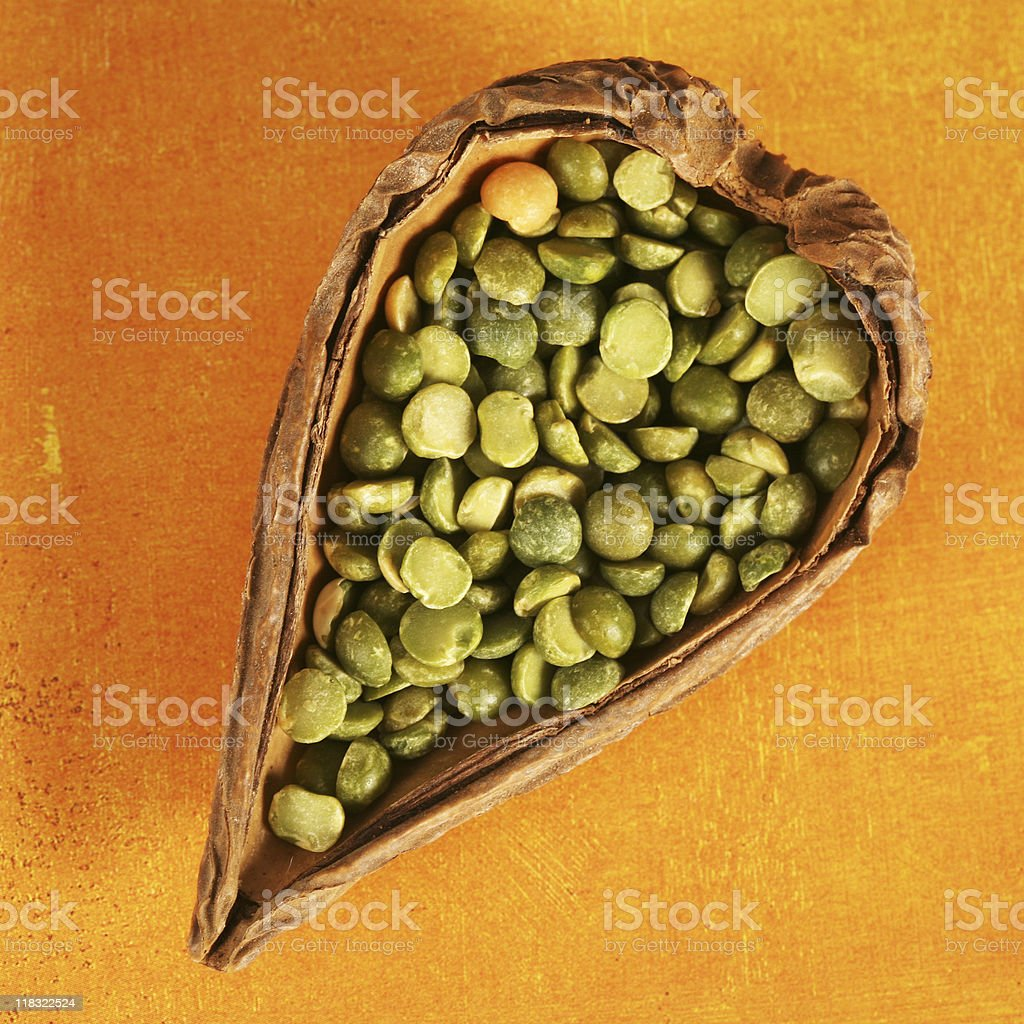 Healthy Peas royalty-free stock photo
