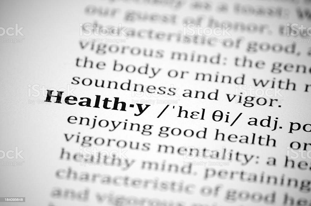 Healthy royalty-free stock photo