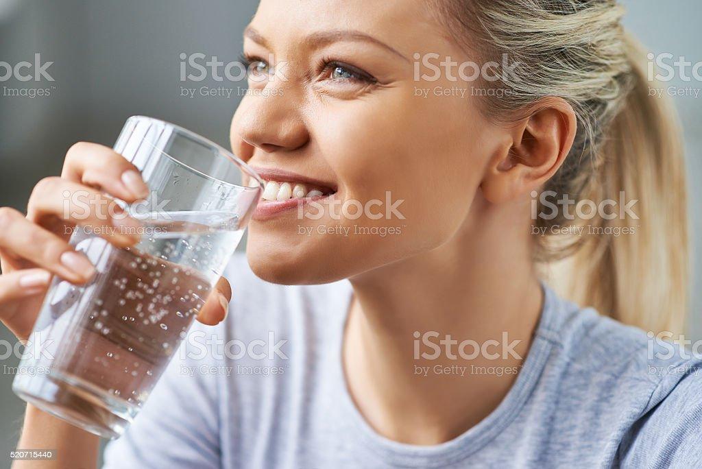 Healthy refreshment royalty-free stock photo