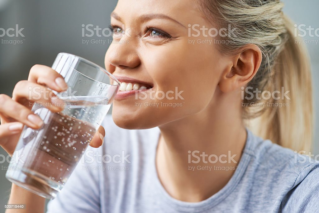 Healthy refreshment stock photo