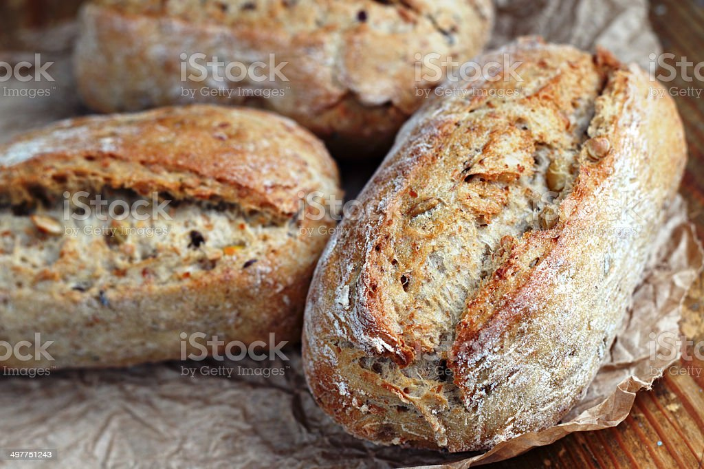 Healthy rolls stock photo