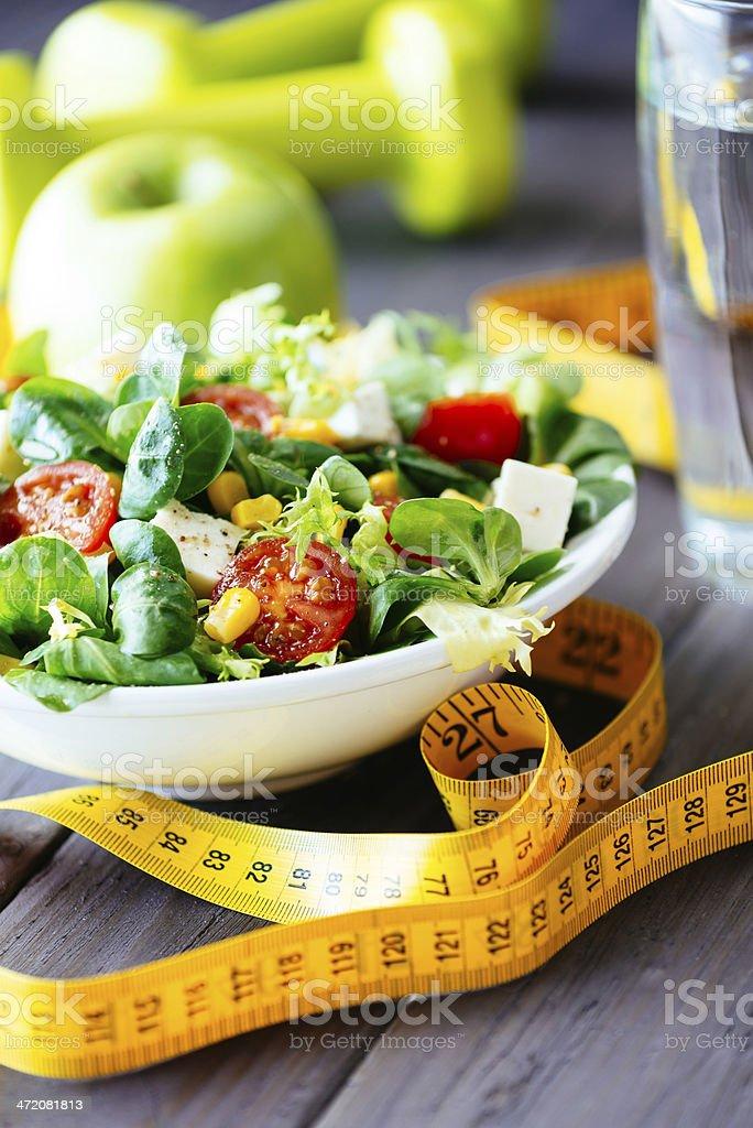 Gesunde Salat für fitness und lifestyle – Foto