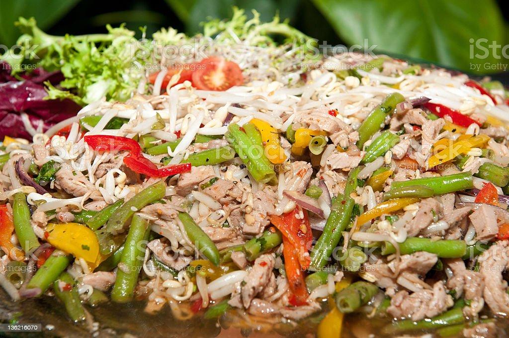 Healthy salad. royalty-free stock photo