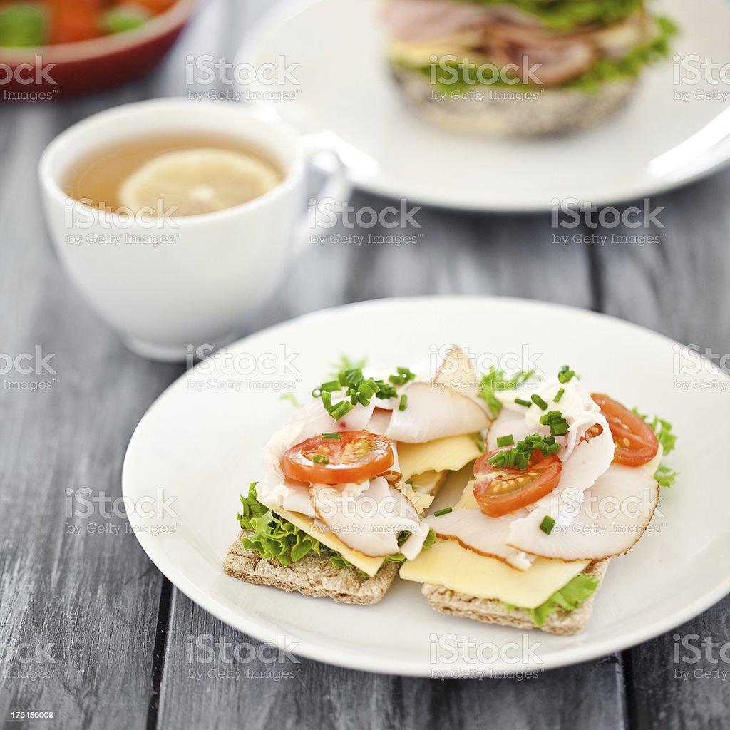 Gesunde sandwiches – Foto
