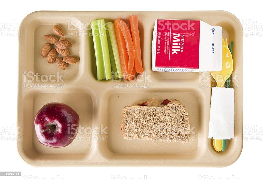 Escola almoço saudável - foto de acervo