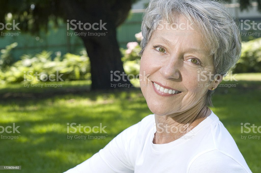 Healthy Senior over 60! royalty-free stock photo