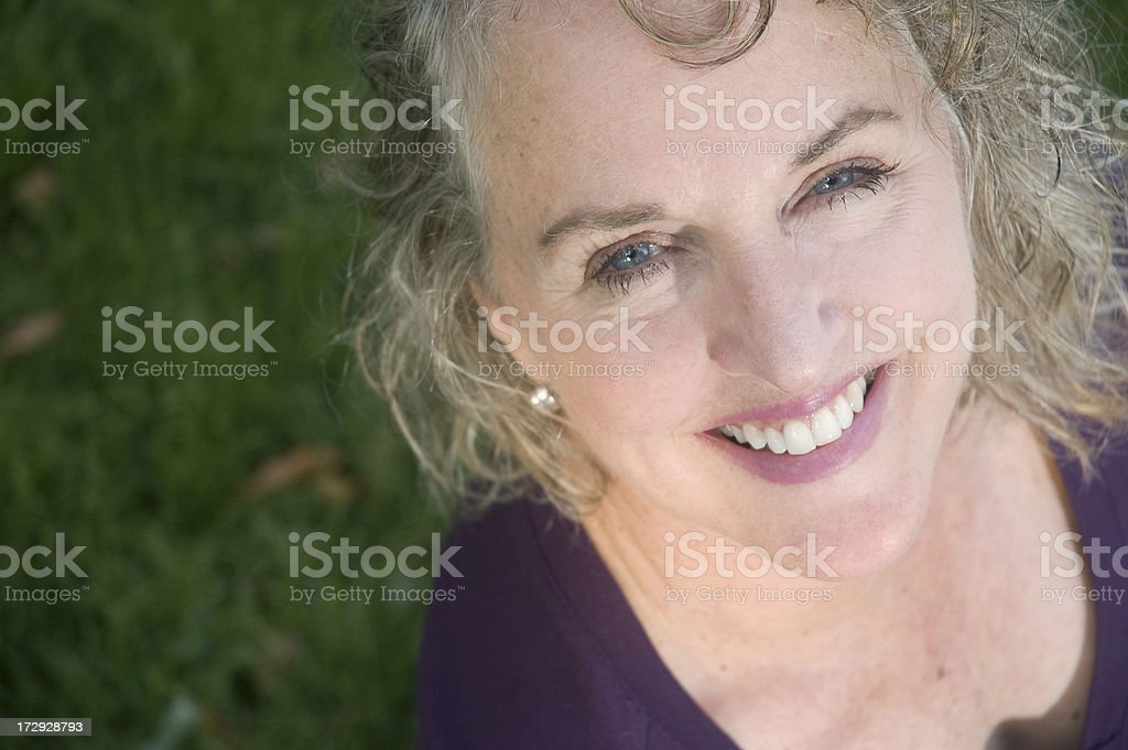 Healthy Senior royalty-free stock photo