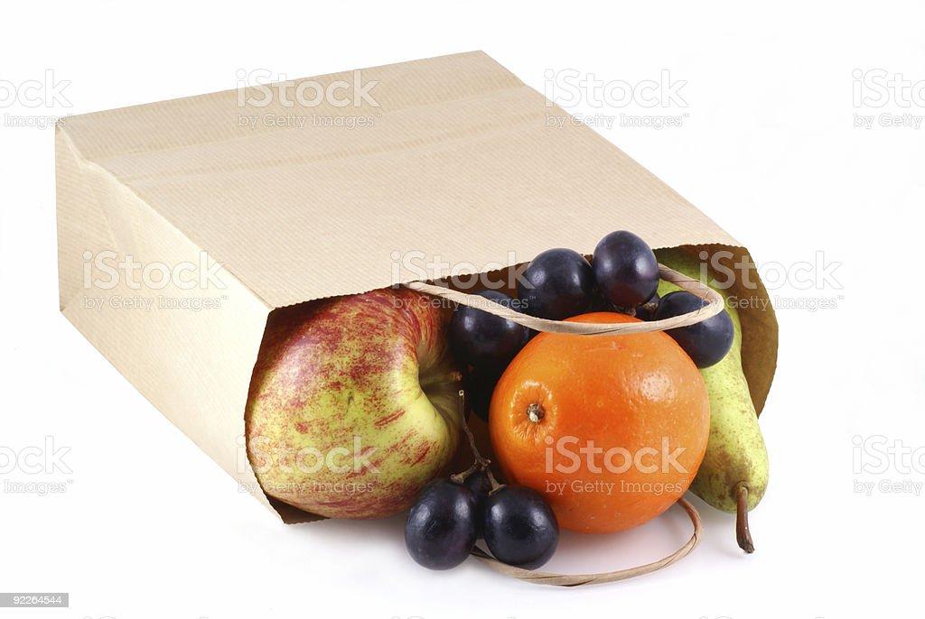 Healthy shopping. royalty-free stock photo