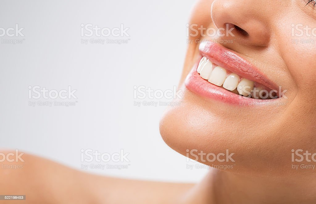 Healthy smile. stock photo