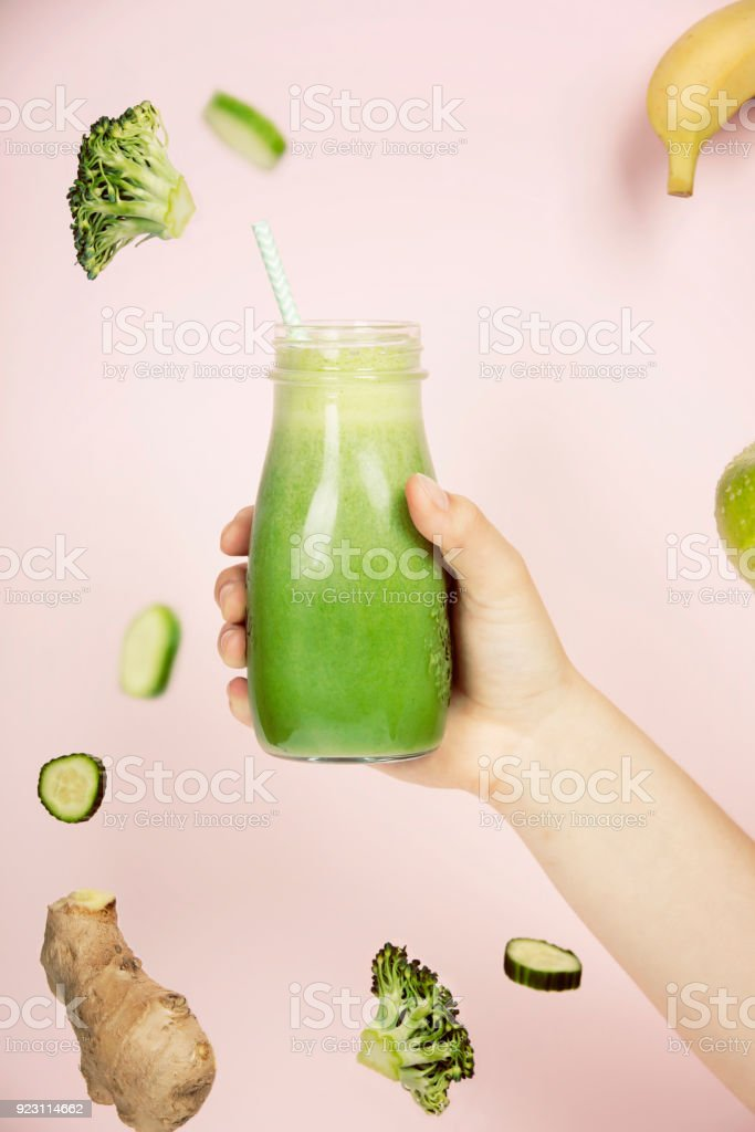 Healthy smoothie stock photo