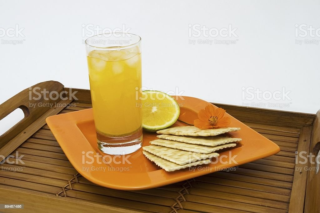 Healthy snack isolated royalty-free stock photo