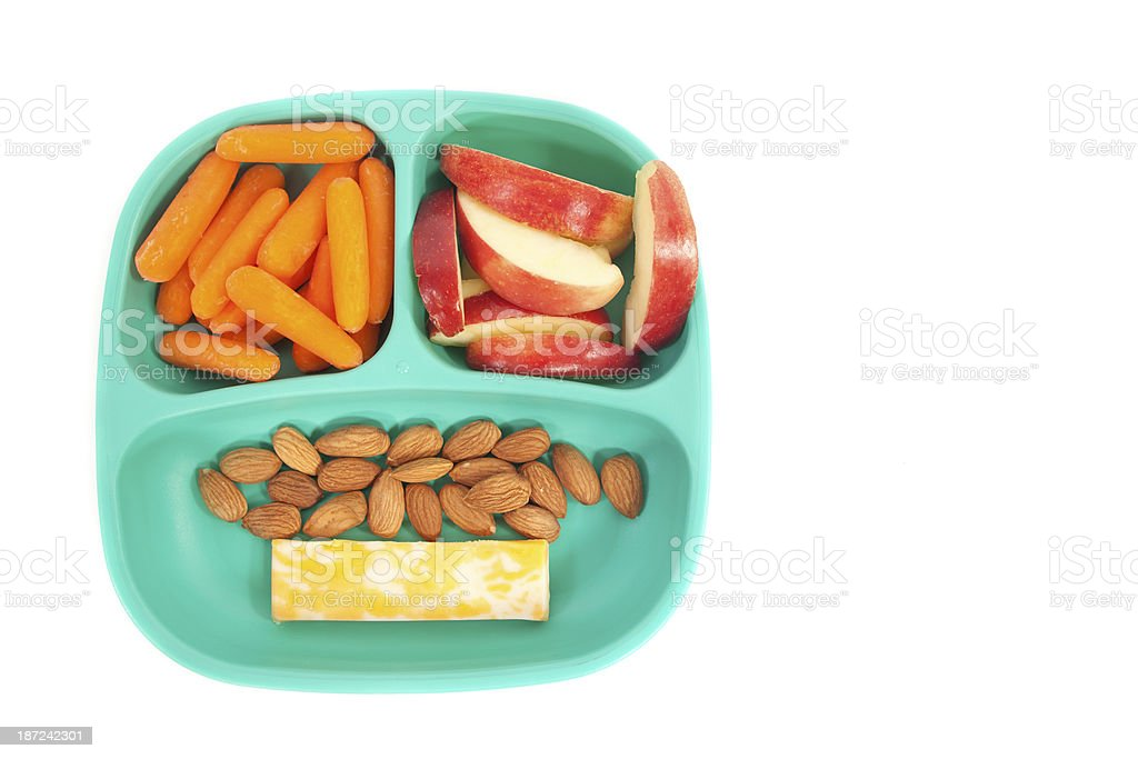 Healthy Snacking stock photo
