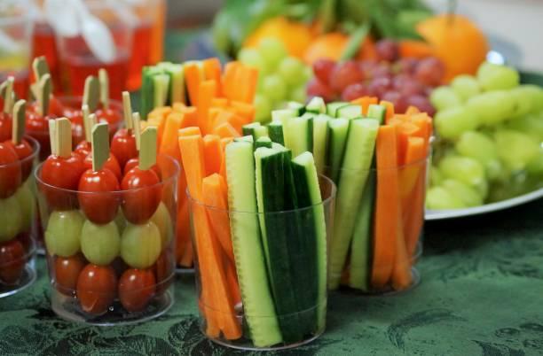 Gesunde snacks – Foto