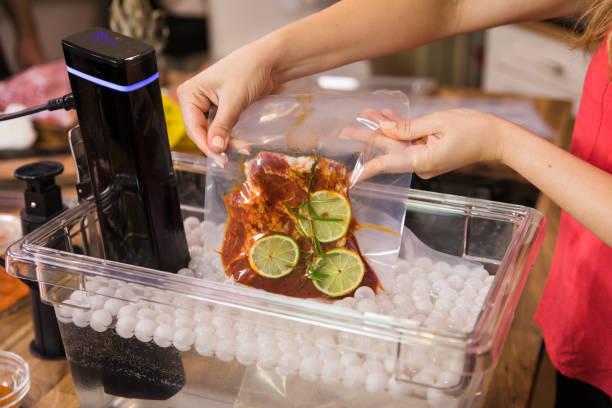 Gesunde Sous-vide kochen. – Foto
