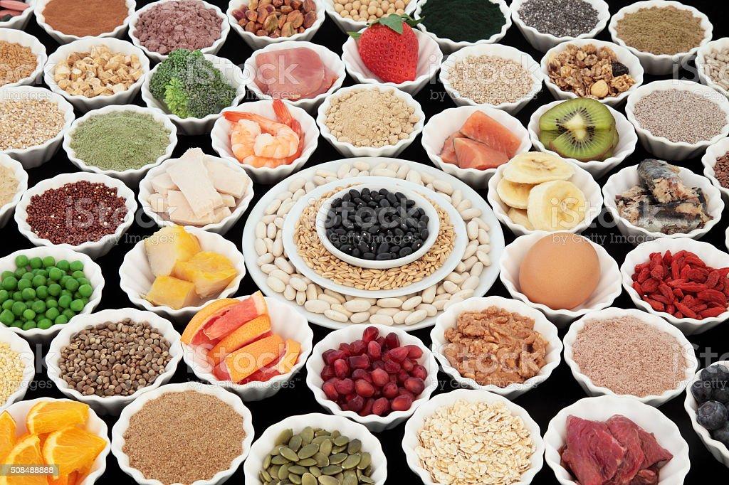 Healthy Super Food stock photo