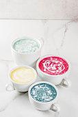 istock Healthy superfood lattes 894315894