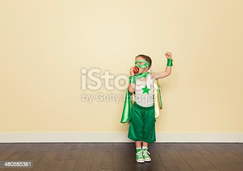 istock Healthy Superhero 480585361
