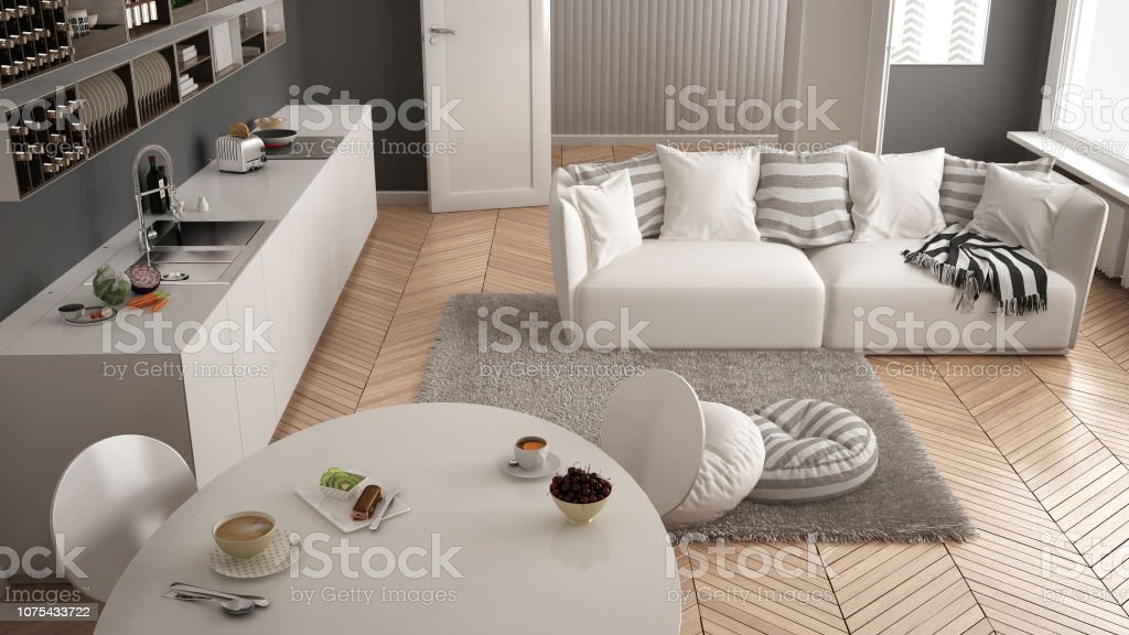 Super Healthy Sweet Breakfast In Modern Scandinavian Kitchen Ocoug Best Dining Table And Chair Ideas Images Ocougorg