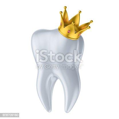 Gesunde Zähne 3dillustration Mit Weißer Emaille Und Wurzel ...