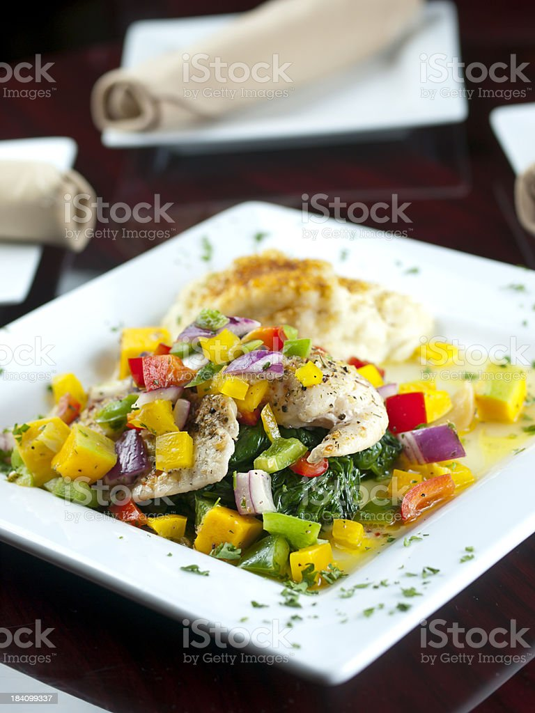 Healthy Tilapia royalty-free stock photo