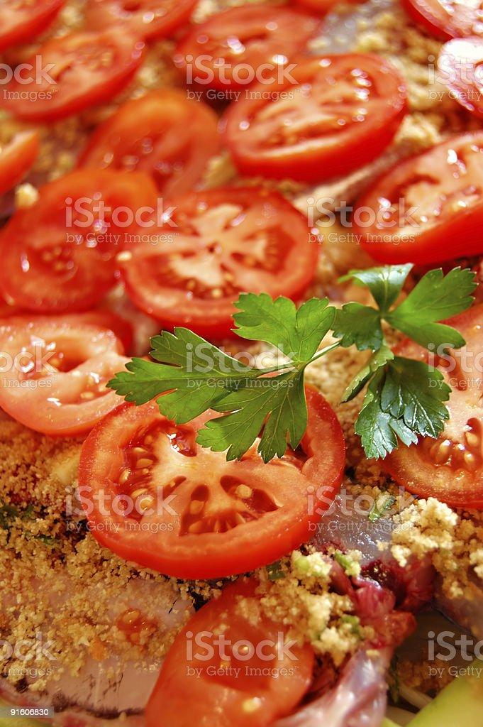 Healthy tomatoes royalty-free stock photo
