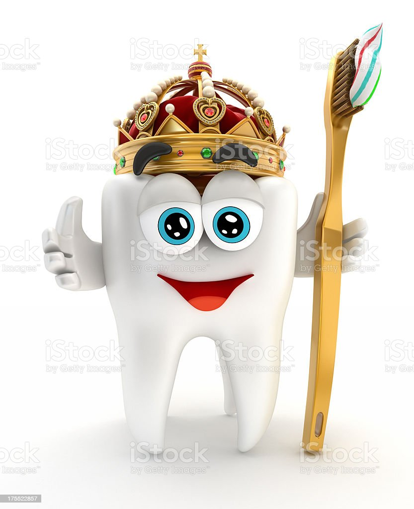 Healthy tooth stock photo