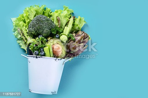 istock Healthy vegan food. 1137531727