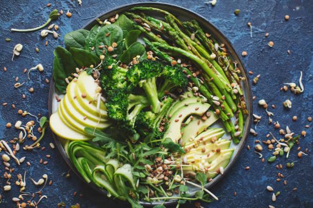 Gesundes veganes Mittagessen – Foto