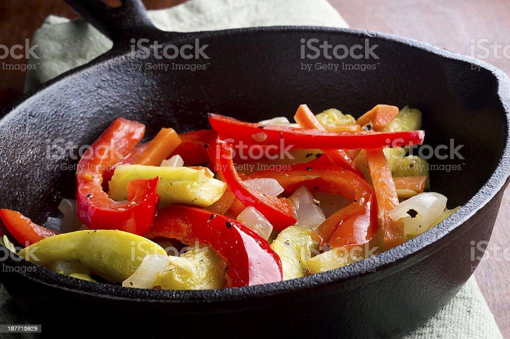Healthy Vegetable Dish stock photo
