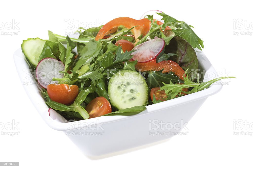 healthy vegetable salad royalty-free stock photo