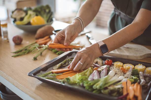 Gesundes Gemüse zum Kochen bereit – Foto