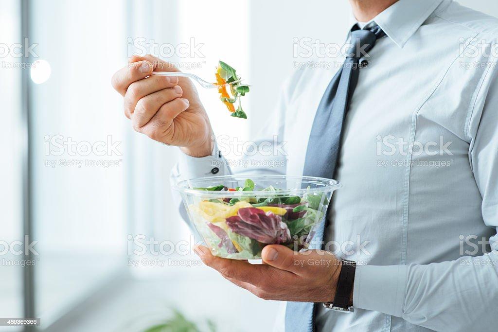 Saudável refeição vegetariana foto royalty-free