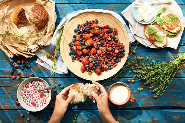 Healthy vitamin-rich foods – Foto