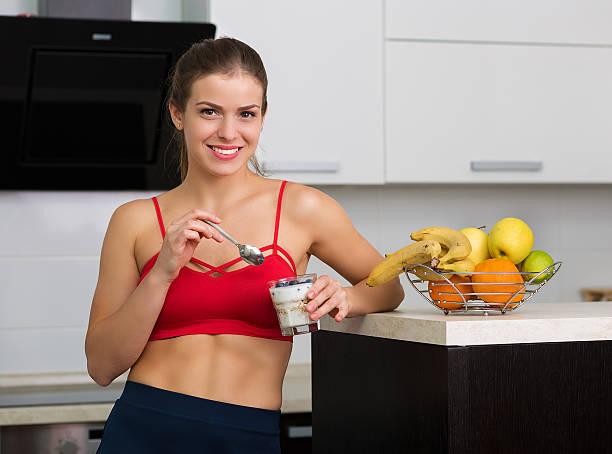 Healthy way stock photo