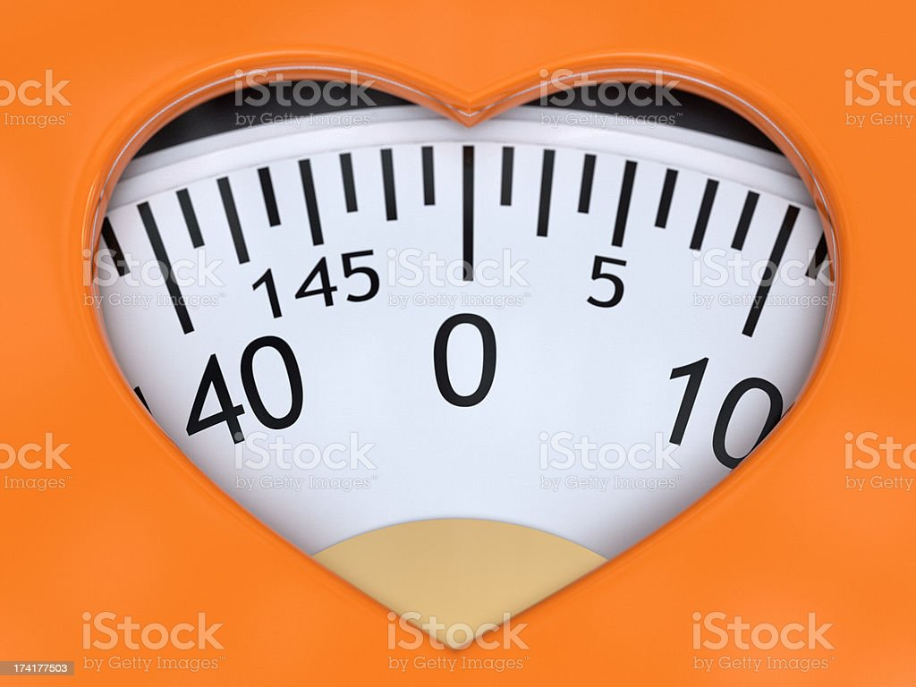 Healthy Weight royalty-free stock photo