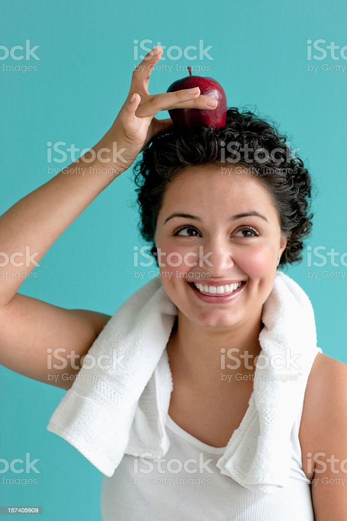Healthy Woman royalty-free stock photo
