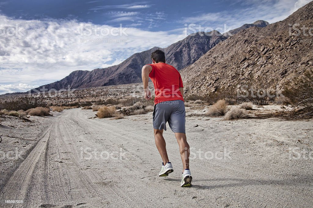 Healthy young man outside royalty-free stock photo