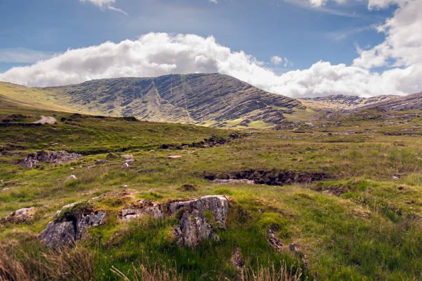 Healy Pass from Clashduff stock photo